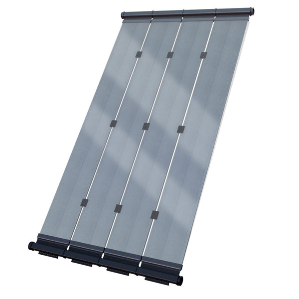 SwimLux Premier Solar Pool Heater Panel - Polymeric Glazing Significantly Enhances Performance