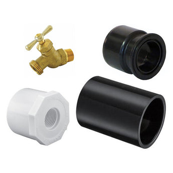 Manual Drain Down Bib Attachment Set