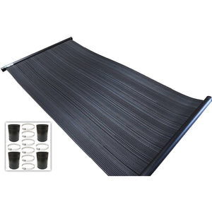 SwimEasy High-Performance Solar Pool Heater Panel Plus Connector Pack
