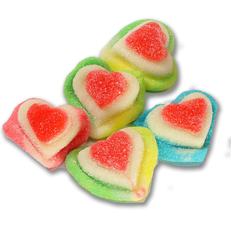 Sour Hearts Halal Gummies