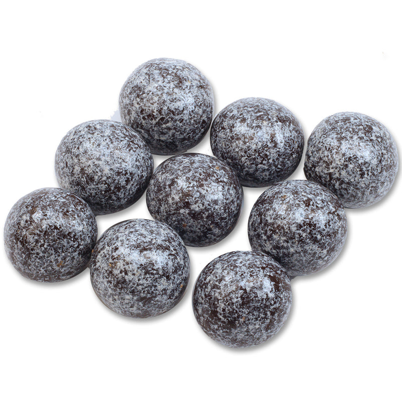 Pearly Silver Dark Chocolate Coated Hazelnuts