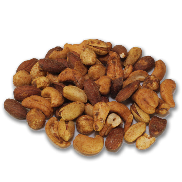 Smoked Mixed Nuts Without Seeds and Peanuts
