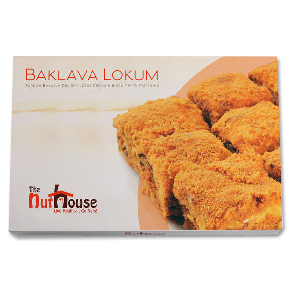 Lotus Baklava Lokum Turkish Delights 400g