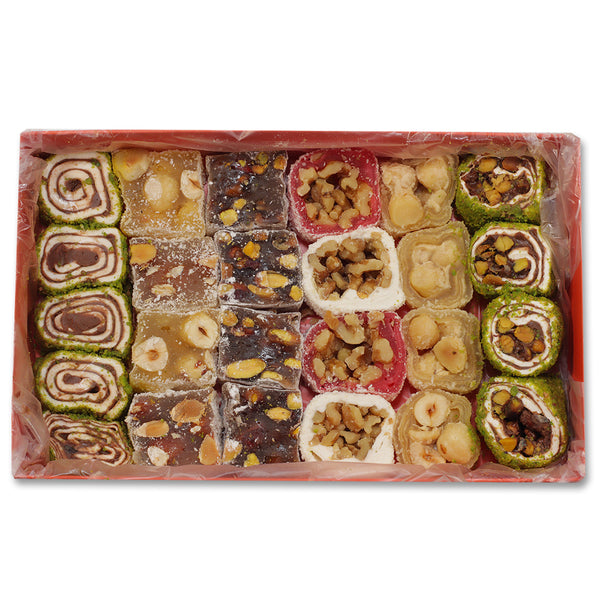 Afyon Lokum Mixed Turkish Delights 400g