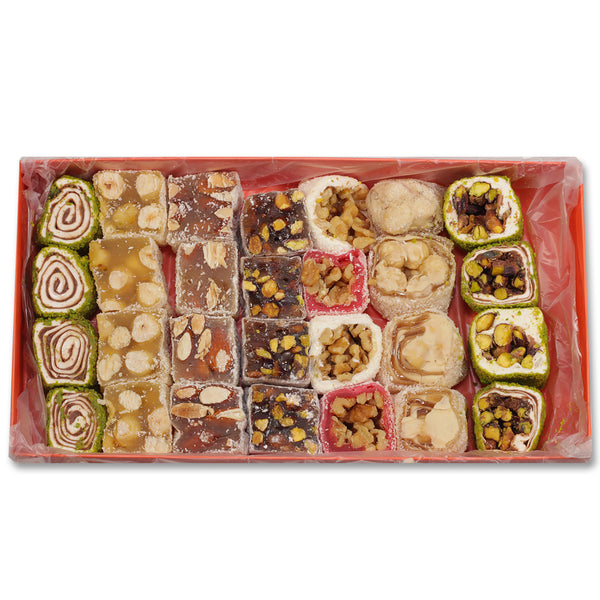 Afyon Lokum Mixed Turkish Delights 700g