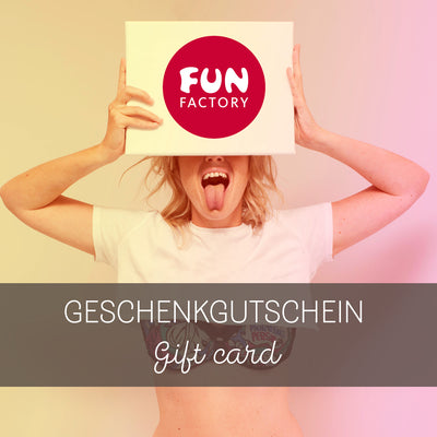 FUN FACTORY - Gift Card