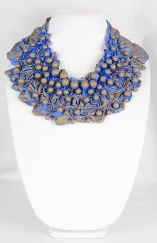 Shibori Designer Necklace