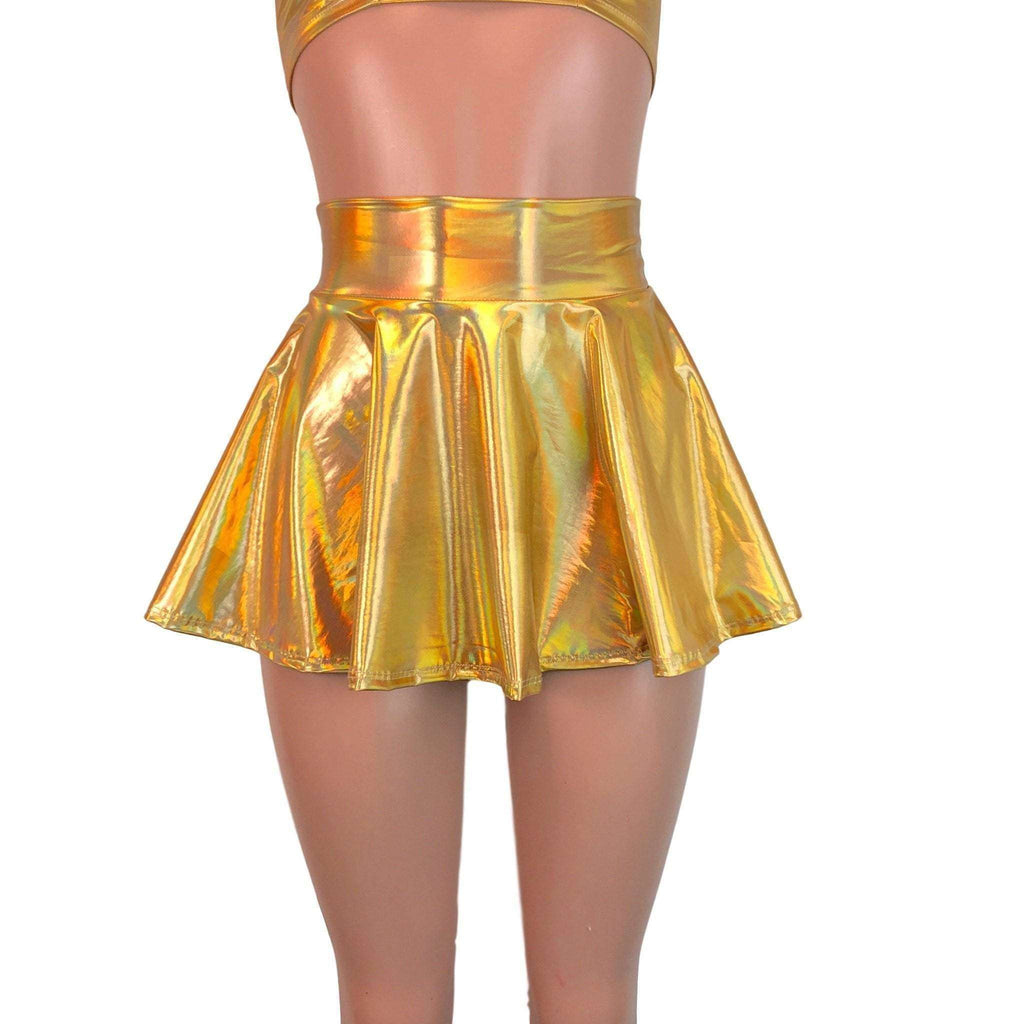 "13"" Skater Skirt - Gold Opal - Peridot Clothing"