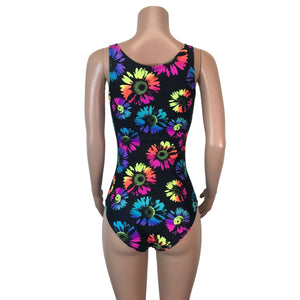Bodysuit - Electric Daisy Neon - Peridot Clothing