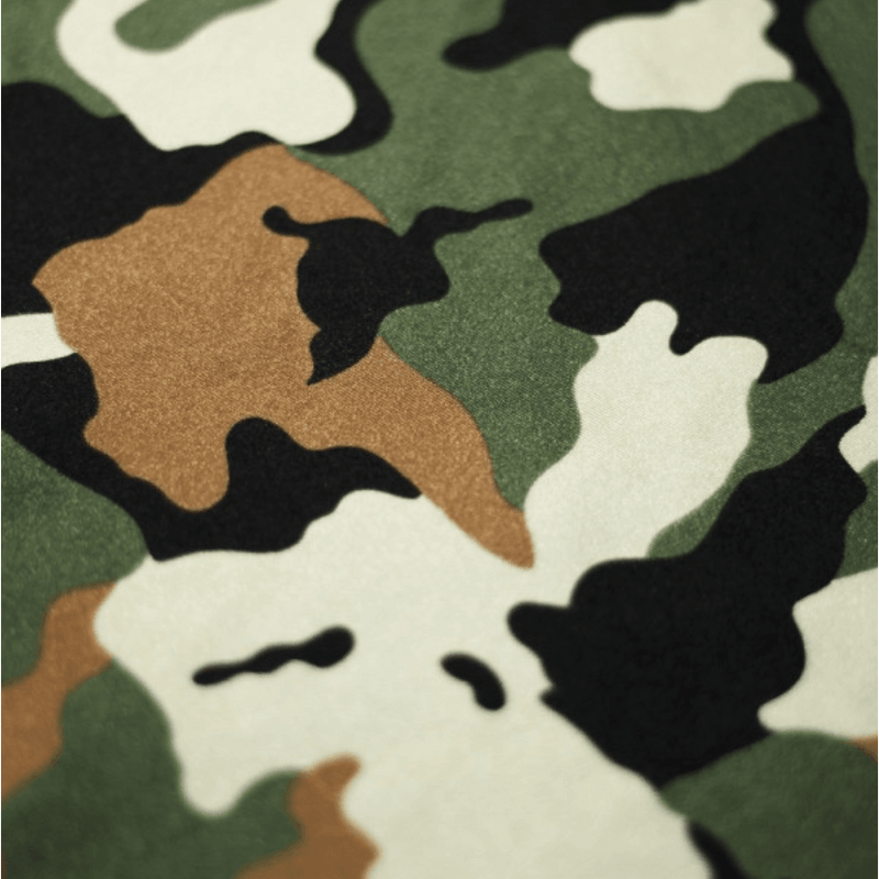 Camouflage Nylon Spandex Fabric by-the-yard - Peridot Clothing