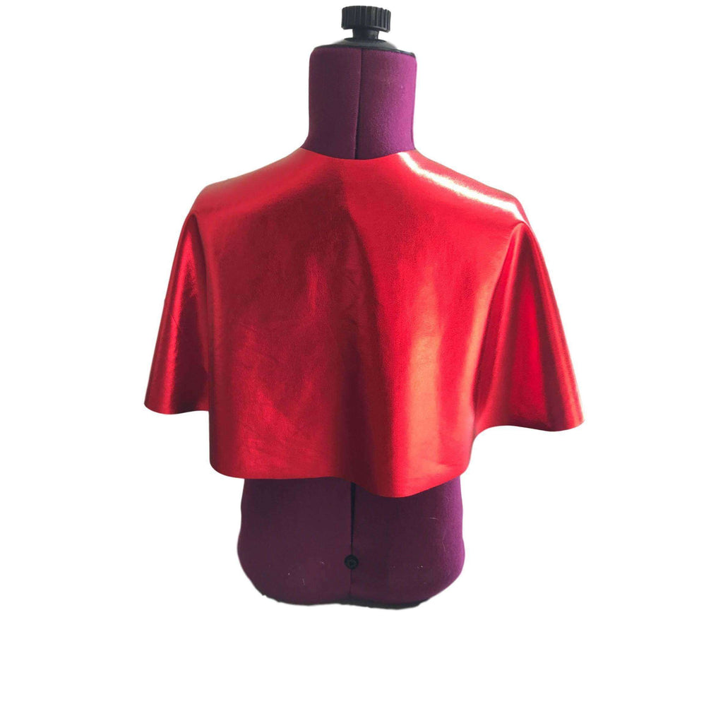 Child Superhero Cape, Simple Hero Red Costume Cape - Peridot Clothing