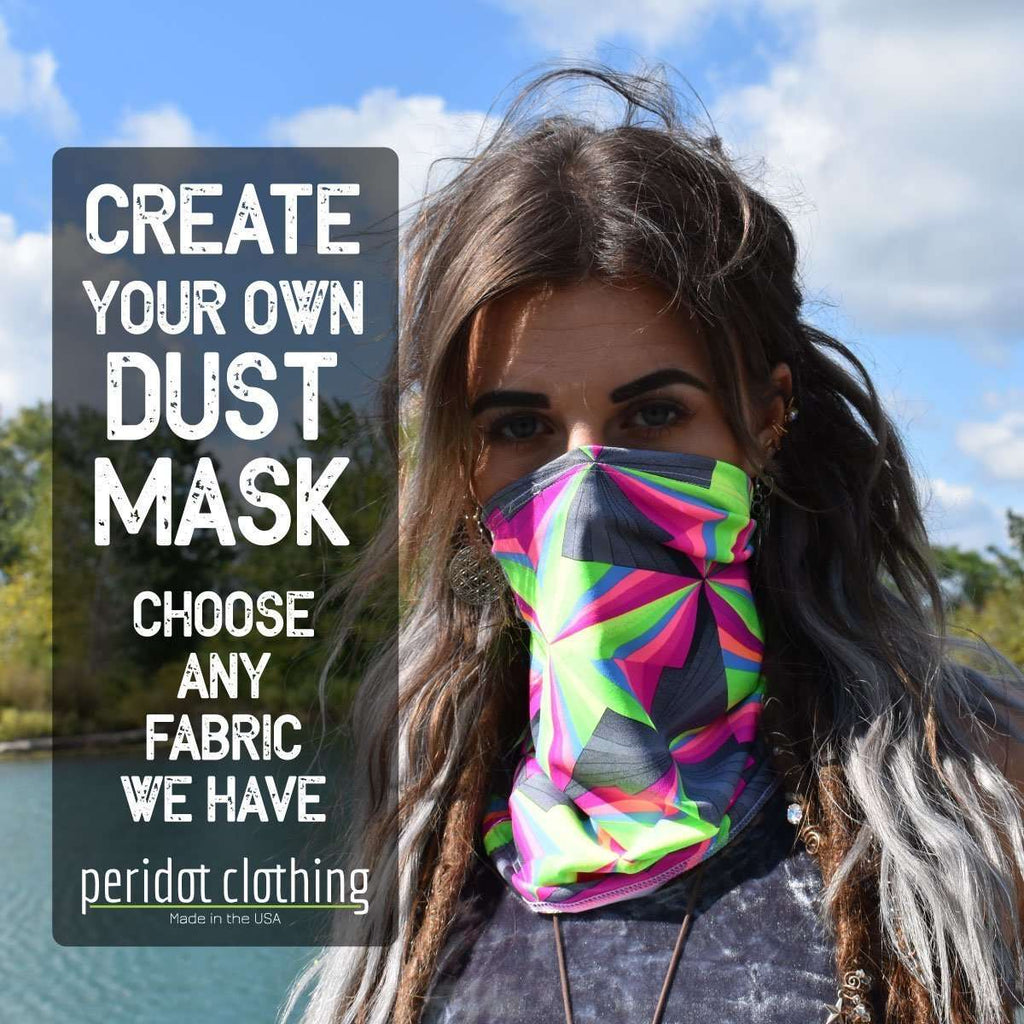 Create Your Own Dust Mask Infinity Scarf - Peridot Clothing