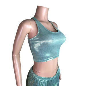 Crop Tank Top - Mint Mystique - Peridot Clothing
