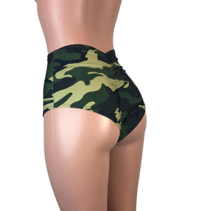 DESIGN YOUR OWN High Waist Scrunch Bikini - Peridot Clothing