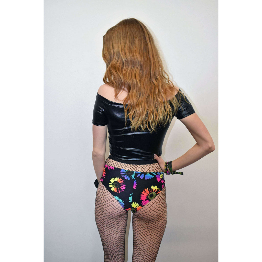 Electric Daisy Cheeky - Peridot Clothing