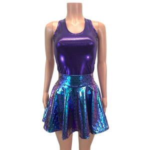 Full Length Tank Top - Purple Mystique - Peridot Clothing