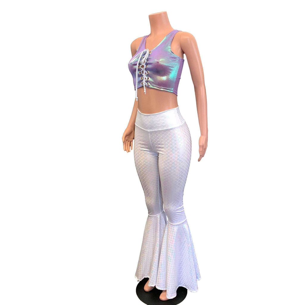 Iridescent Mermaid Costume Outfit - Peridot Clothing