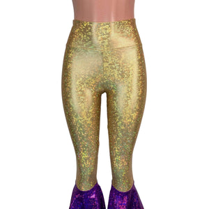 Mardi Gras Bell Bottoms -  Tiered Flare Pants - Choose your Rise - Peridot Clothing