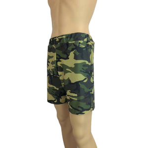 Men's Camo or Camouflage Shorts W/ Pockets - Peridot Clothing