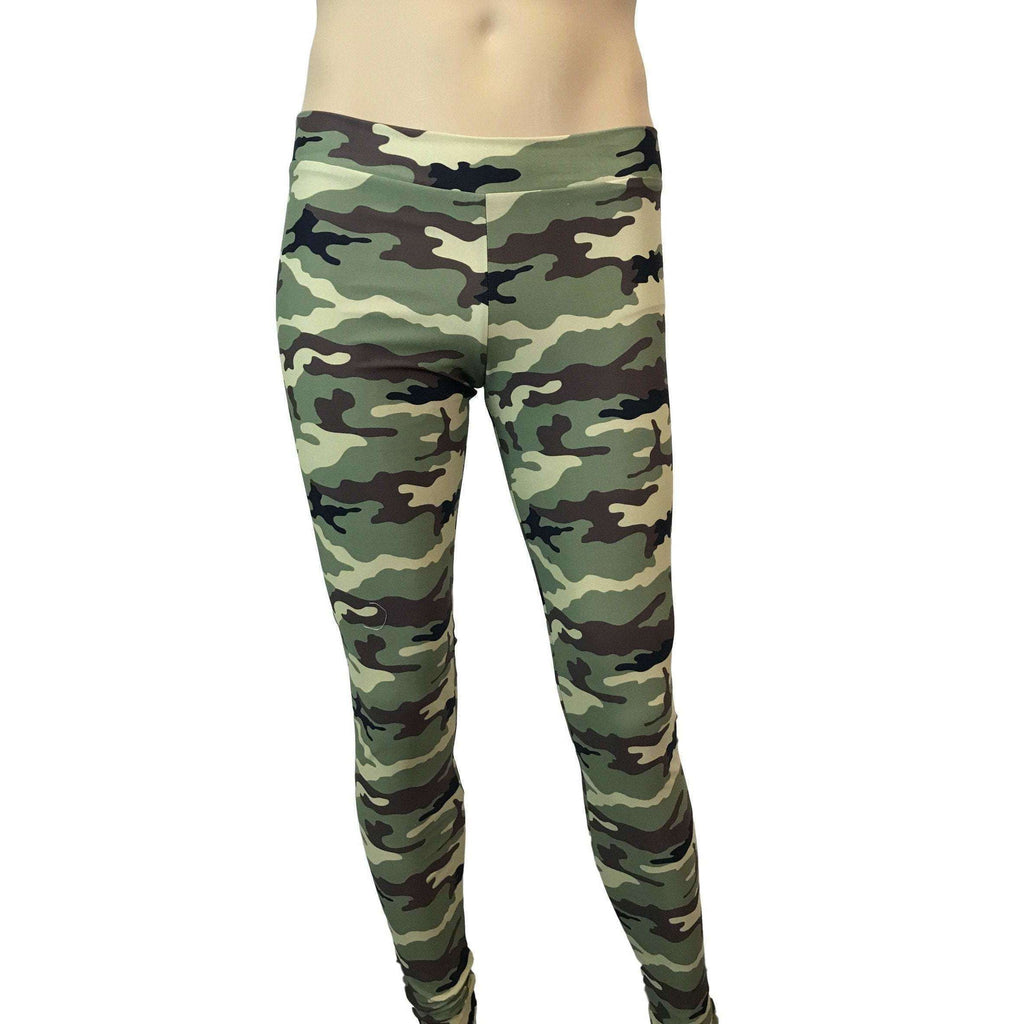 Men's Camouflage Camo Meggings or Leggings - Peridot Clothing