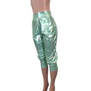 Mint Green Mystique Joggers w/ Pockets - Peridot Clothing