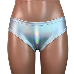 Opal Holographic Cheeky Bikini - Peridot Clothing