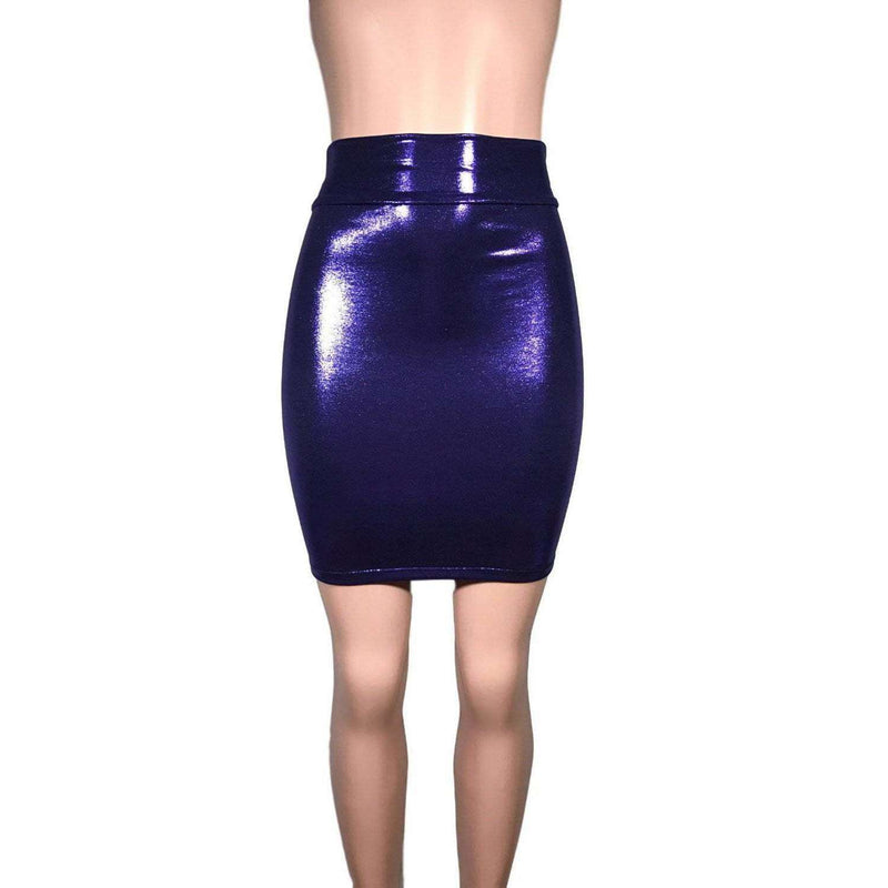 Pencil Skirt - Purple Mystique - Peridot Clothing