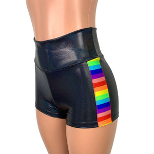 Rainbow Pride Booty Shorts - Peridot Clothing