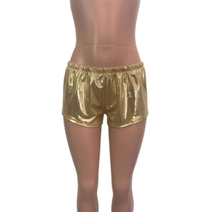 Rave Shorts - Gold Mystique - Peridot Clothing