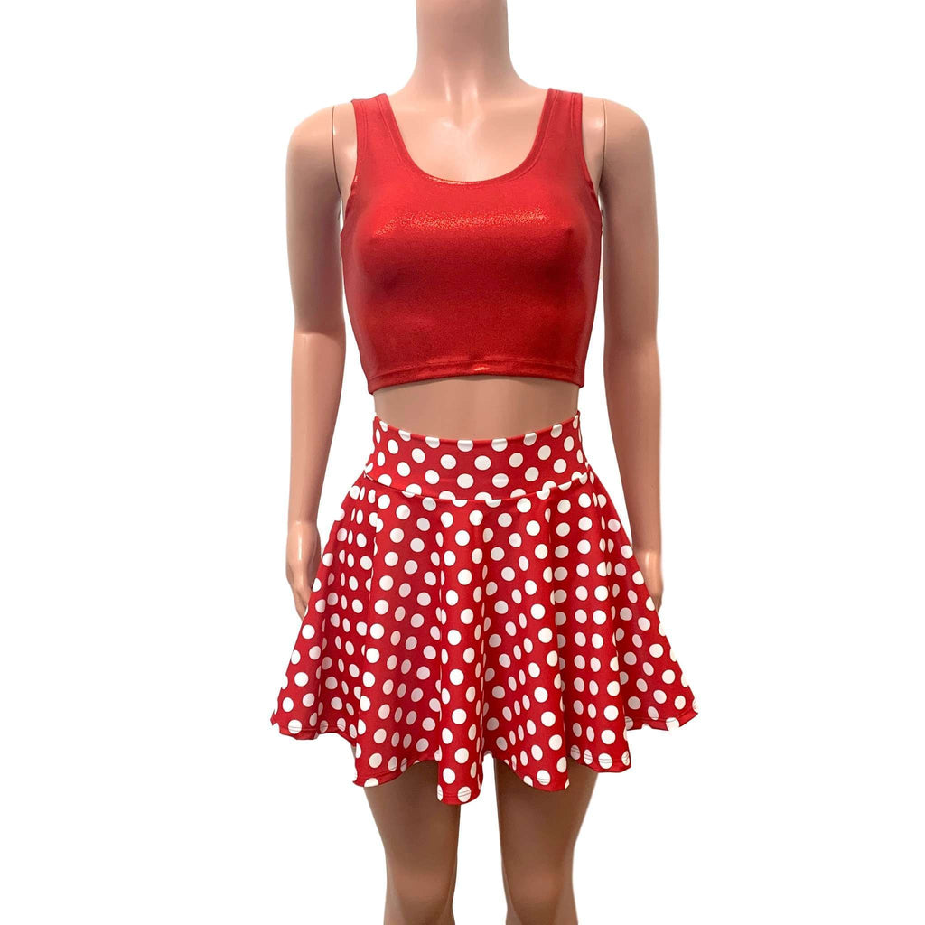 Red Polka Dot Outfit - Costume - Peridot Clothing