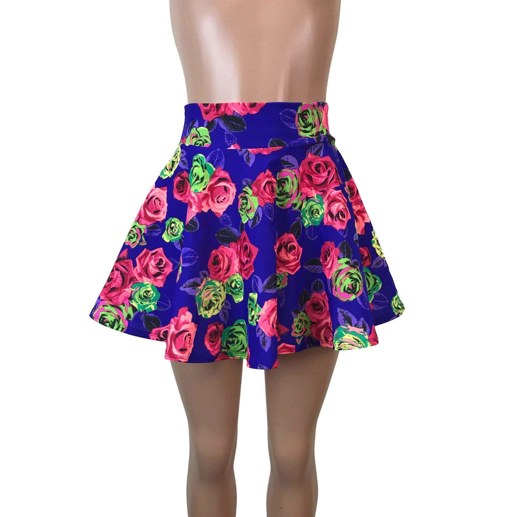 SALE - Skater Skirt - Neon Rose - Peridot Clothing