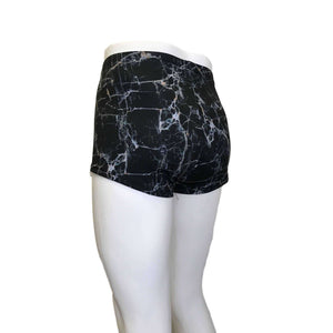SALE Men's Marble Print Booty Shorts - Peridot Clothing