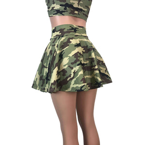 Skater Skirt - Camo - Peridot Clothing