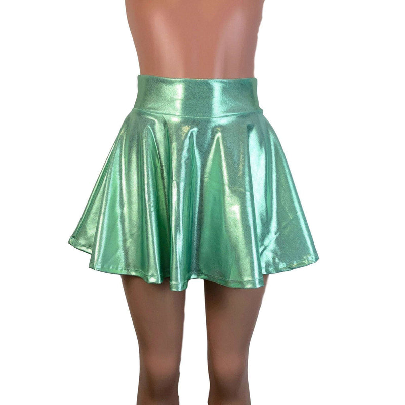 Skater Skirt - Mint Green Mystique - Peridot Clothing