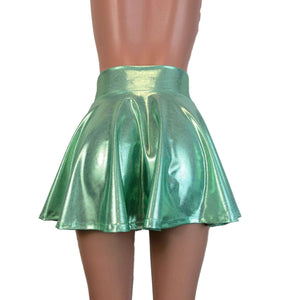 SALE - SMALL Skater Skirt - Mint Green Mystique - Peridot Clothing