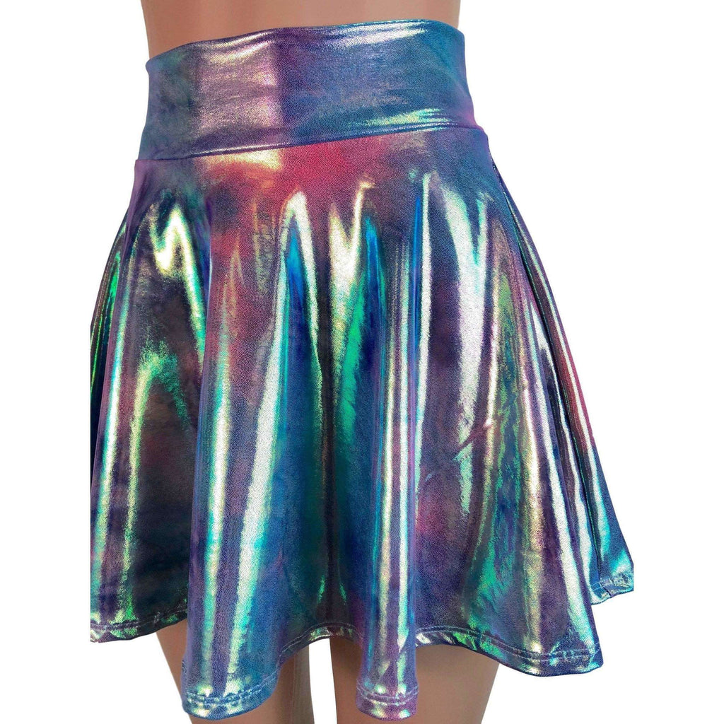 Skater Skirt - Rainbow Mystique - Peridot Clothing