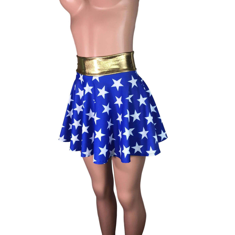 Skater Skirt - Wonder Woman Inspired - Peridot Clothing