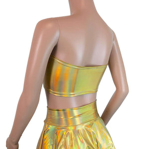 Tube Top Bandeau - Gold Opal - Peridot Clothing