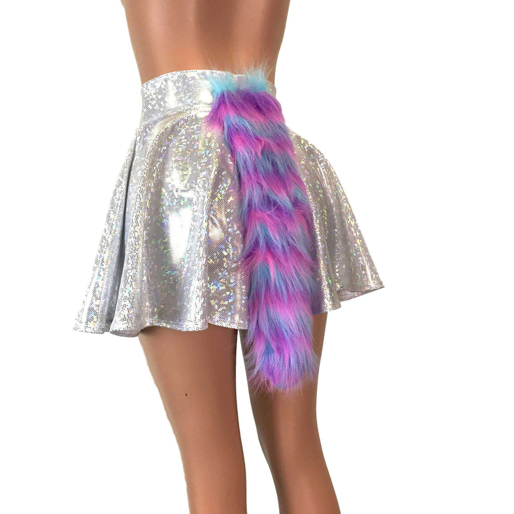Unicorn Costume Tail and Skirt - Holographic - Peridot Clothing