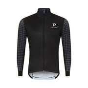 Baldo Long Sleeve Spring Jacket Houndstooth - PRIMO - Cycling Apparel