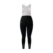 Zoncolan Black Women Thermal Bib Tights