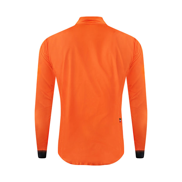 Brezza High-Vis Orange Windproof Jacket