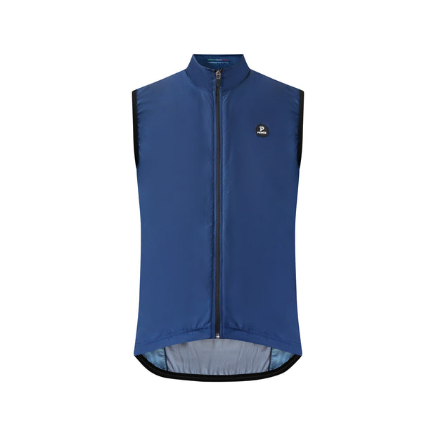 Ala Navy Windproof Gilet