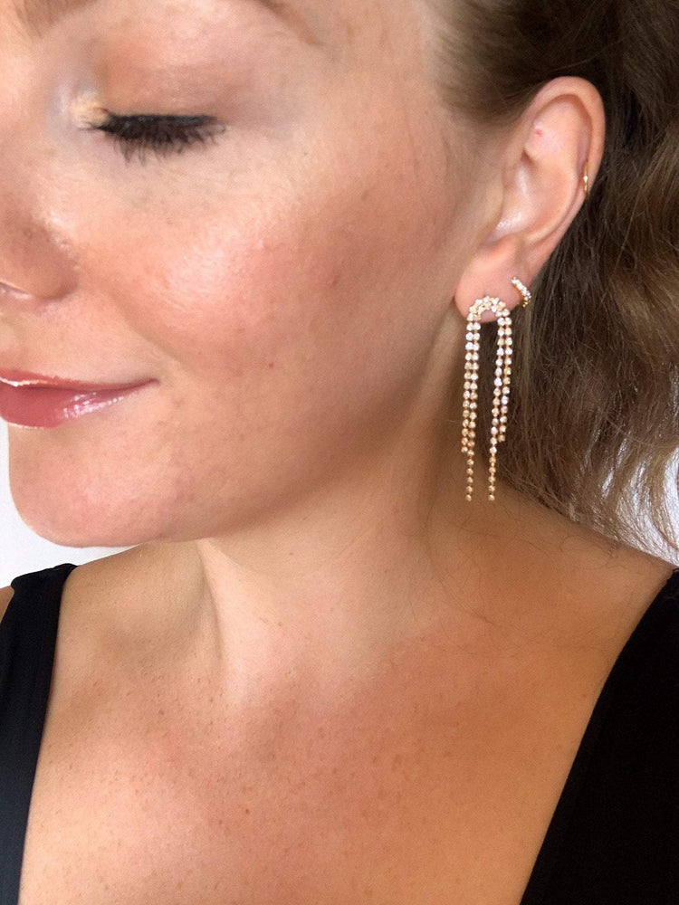Liberated Society Fashion Showstopper Drop Earring Earrings