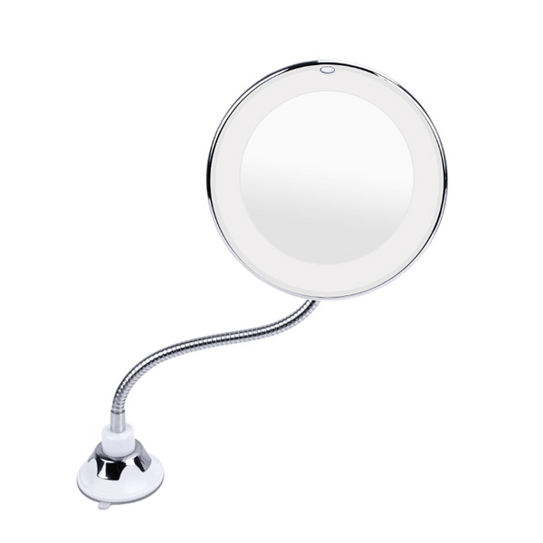 10X Magnifying Makeup Mirror with LED