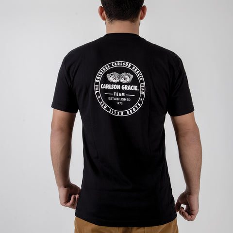 Carlson Gracie Roots Tee Back View