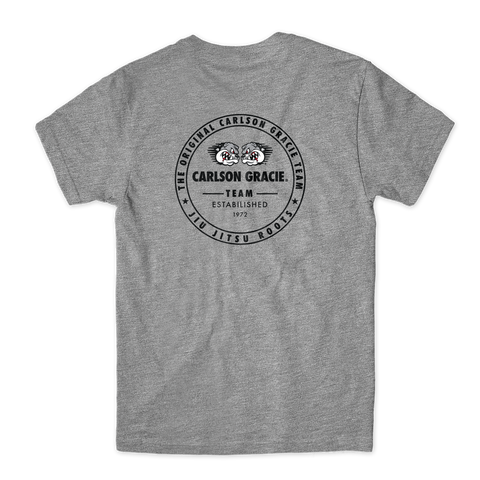 Carlson Gracie Roots Youth Tee - Grey