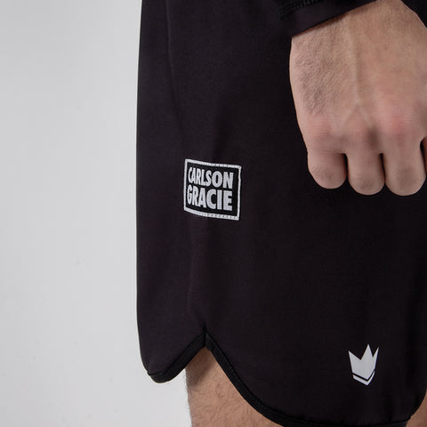 Carlson Gracie Adult Grappling Shorts Side Logo View