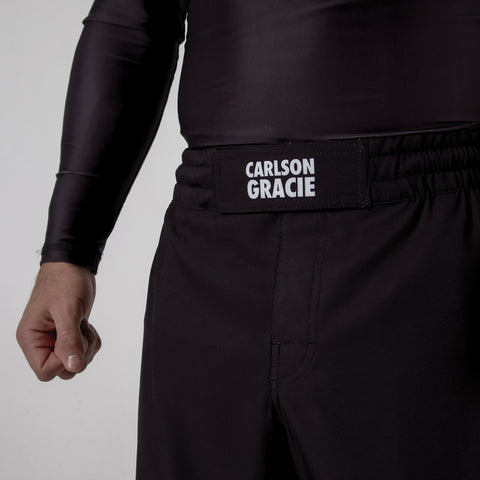 Carlson Gracie Adult Grappling Shorts Front Tie Logo