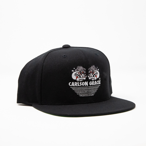 Carlson Gracie Team Black Snapback